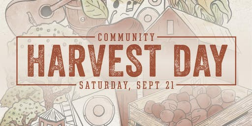 Community Harvest Day - Cider & Food Pairing