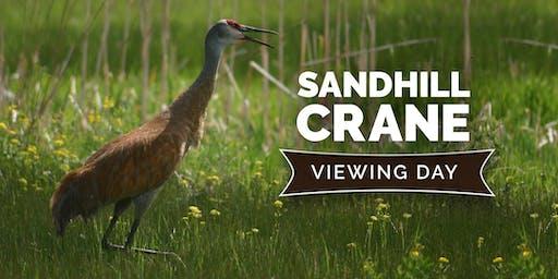 2019 Sandhill Crane Viewing Day