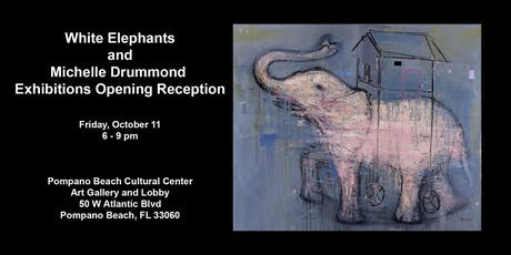 White Elephants and Michelle Drummond Exhibitions Opening Reception tickets