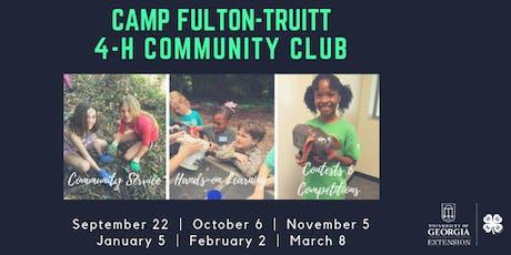 Camp Fulton-Truitt 4-H Community Club tickets