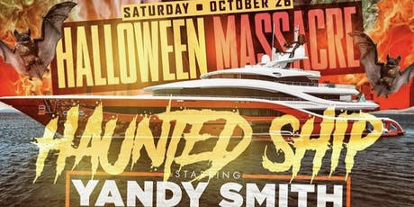 The biggest Halloween costume party is BACK!Halloween Massacre! HORNBLOWER tickets