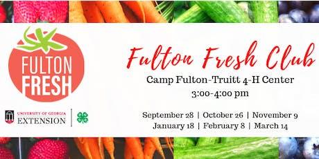 Fulton Fresh Club at CFT tickets