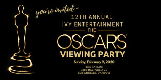 IVY Entertainment Oscars Viewing Party