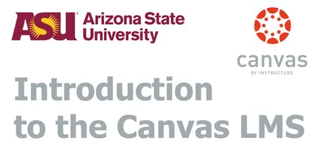 Canvas Training - Introduction (Tempe) tickets