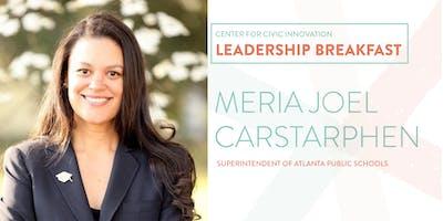 Leadership Breakfast: Meria Joel Carstarphen