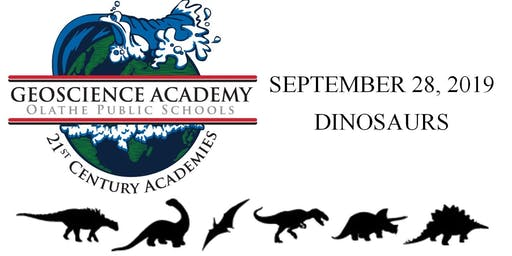 Olathe Geoscience Kids Day Out: Dinosaurs