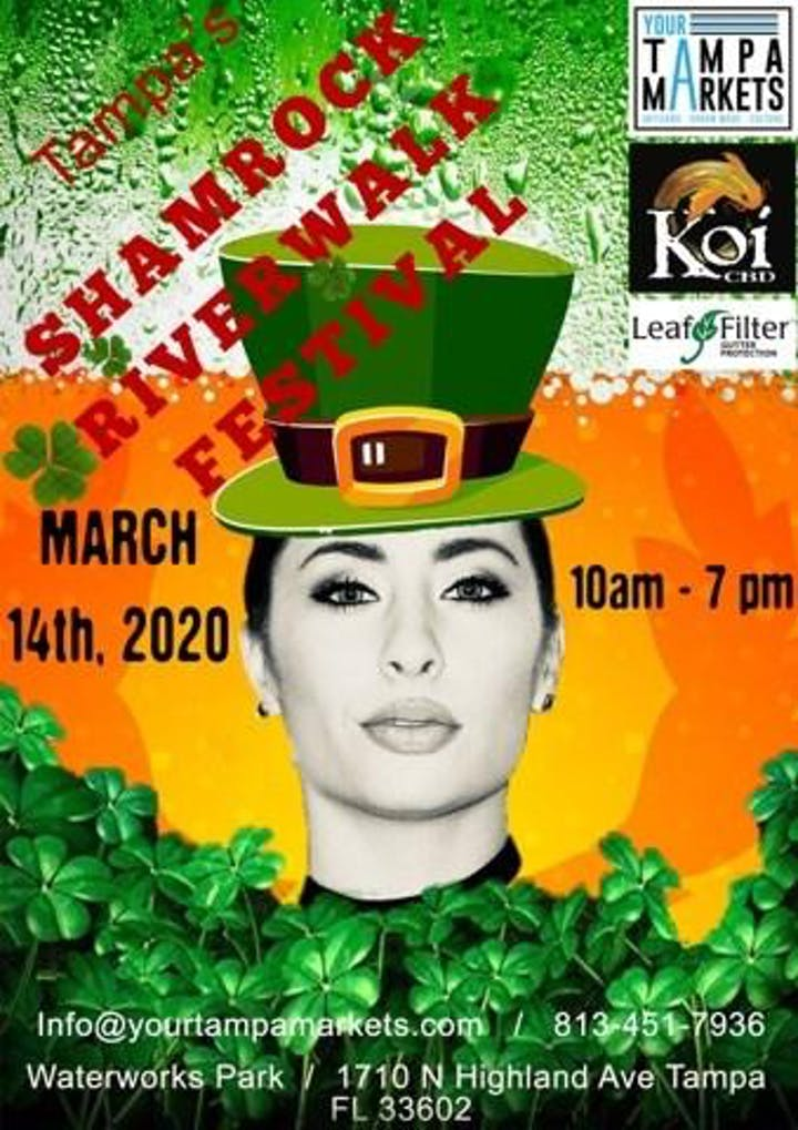 Green River Festival 2020.Tampa Shamrock River Festival Tickets Sat Mar 14 2020 At