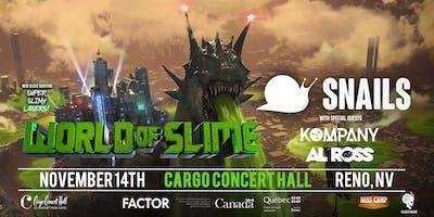 Snails: World Slime Tour at Cargo Concert Hall