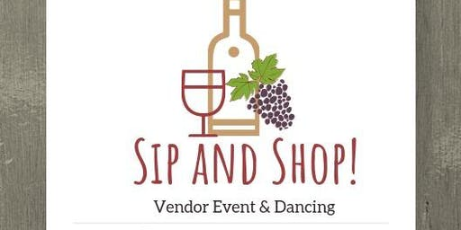 Sip & Shop Vendor Event