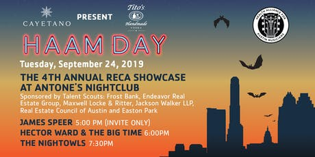 Tito's Handmade Vodka Presents the 4th Annual RECA Showcase at Antone's Nightclub tickets