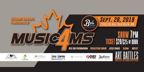 Music4MS tickets