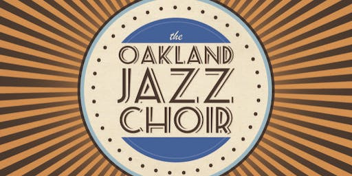 Oakland Jazz Choir - (seated-show, all ages welcome)