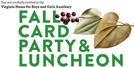 VHBG's Auxiliary Fall Card Party 2019 tickets