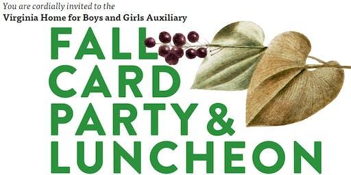 VHBG's Auxiliary Fall Card Party 2019