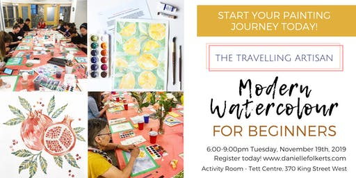 Modern Watercolour for Beginners