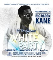 15th Annual All White Party- Live Performance by Big Daddy Kane