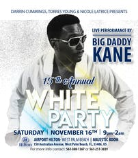 15th Annual All White Party- Live Performance by Big Daddy Kane tickets