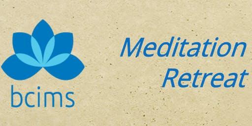 Weekend Meditation Retreat with Steve Armstrong/Kamala Masters 2020jan10ac