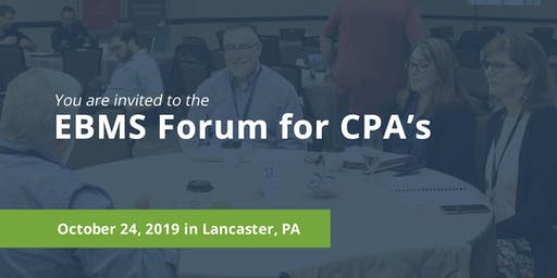 EBMS Forum for CPA's