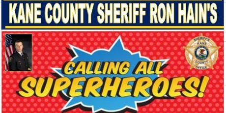 Kane County Sheriff Ron Hain's Volunteer Appreciation Dinner tickets
