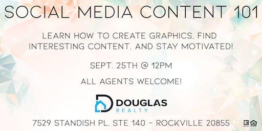 Social Media Content 101