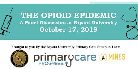 The Opioid Epidemic -- A Panel Discussion tickets