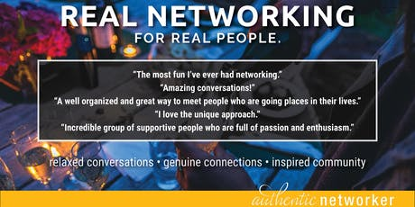 Real Networking: October tickets