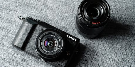 Getting to Know Your Lumix Camera tickets