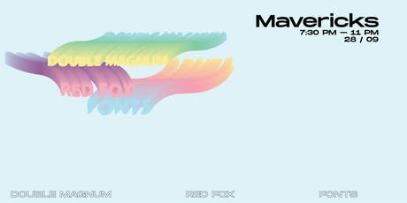 RedFox - Double Magnum - Fonts // Cafe Dekcuf tickets