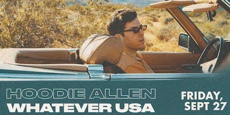 Hoodie Allen tickets