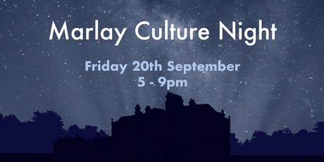 Marlay Culture Night tickets