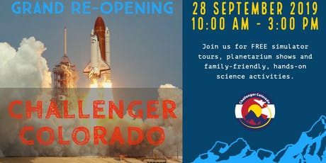 Challenger Learning Center of Colorado Grand ReOpening tickets