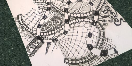 Introduction to Zentangle (Step 1) - Two Hour Adult Workshop