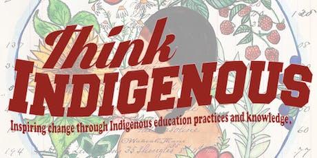 Think Indigenous Professional Development - Medicine Teachings tickets