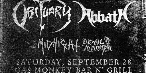 Obituary + Abbath