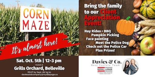 Davies & Co. Client Appreciation Pumpkin Event