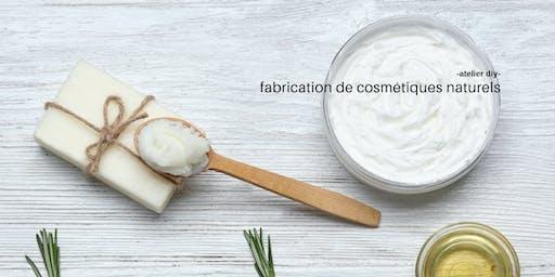 Fabrication de cosmétiques naturels