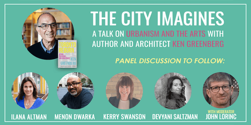 The City Imagines Keynote with Ken Greenberg