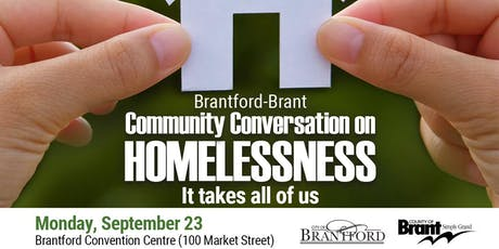 Brantford-Brant Community Conversation on Homelessness tickets