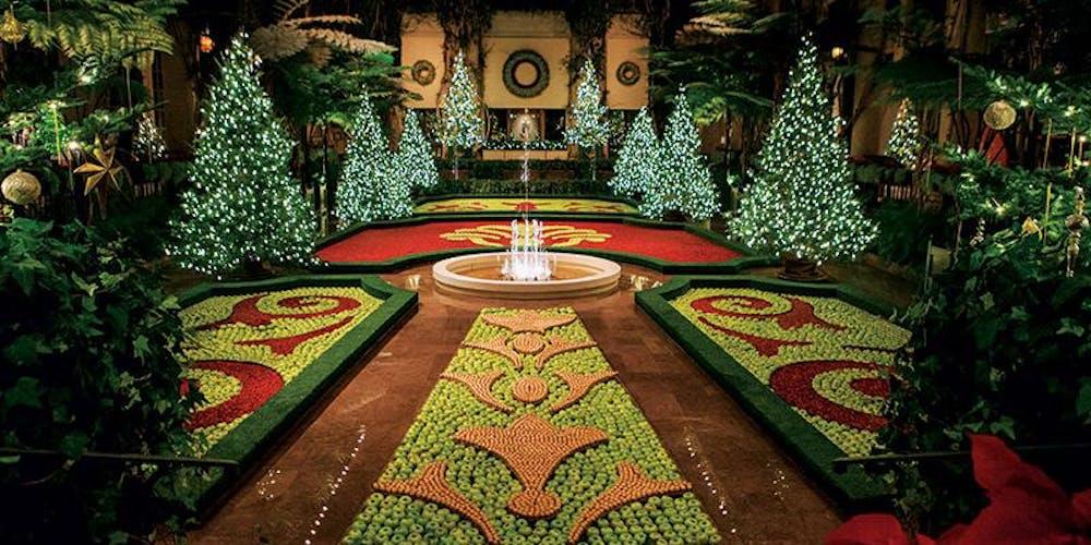Longwood Gardens Christmas 2019.Longwood Gardens Christmas Bus Trip