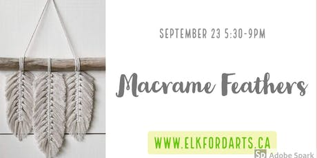 Macrame Feathers with Annette Shepard tickets