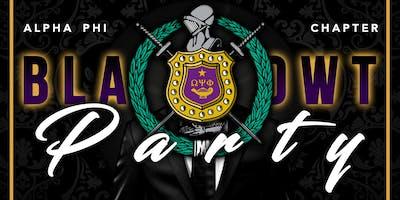 FoundersDayBlaQowt Party