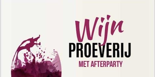 Rondetafel Wijnproeverij en Feest 2-11-2019