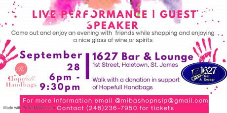MIBA Shop N Sip tickets