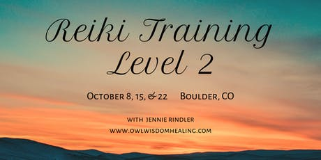 Level 2 Reiki Training tickets