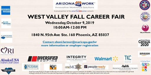 West Valley Fall Career Fair