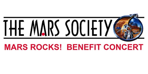 MARS ROCKS! - A BENEFIT CONCERT FOR THE MARS SOCIETY  - Ages 21+