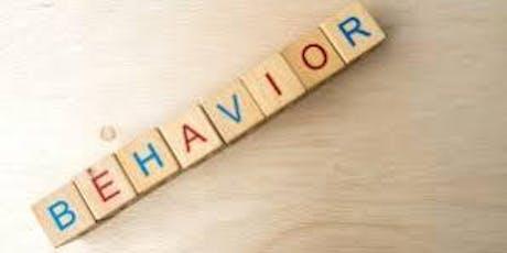 Understanding behaviour that challenges  tickets