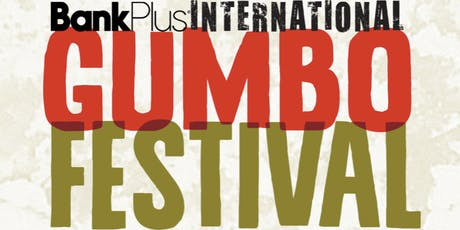 2019 Cooking Team Registration - BankPlus International Gumbo Festival tickets
