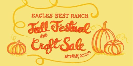 2019 ENR Fall Festival & Craft Sale